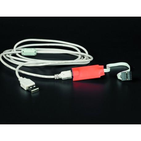 Кабель USB для конфигурирования УОО 6E, УОО 6EG, КО-L, УОО 3ША-L, КО-ISM и УОО 3ША-ISM с компьютера.
